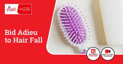 Hair fall treatment creative